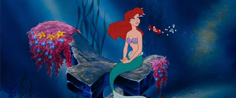 "PHOTO: Ariel and Sebastian appear in the 1989 Disney film, ""The Little Mermaid."""