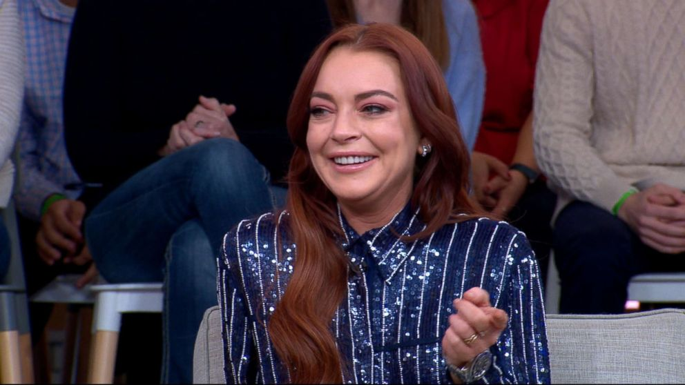 """Lindsay Lohan talks to """"GMA,"""" Jan. 7, 2019 about her upcoming MTV show """"Lindsay Lohan's Beach Club"""" ahead of its premiere on Jan. 8."""