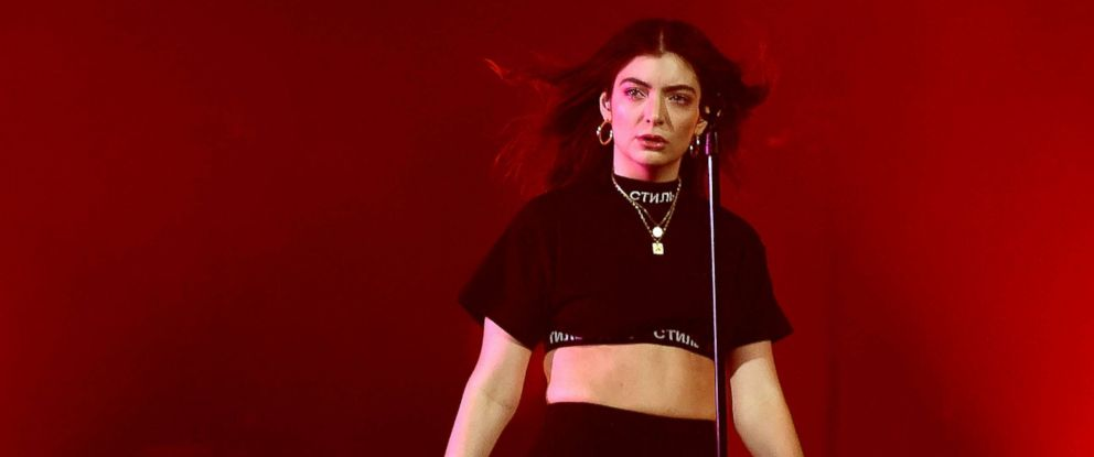 PHOTO: Lorde performs at the Melodrama World Tour at Barclays Center, April 4, 2018, in New York City.