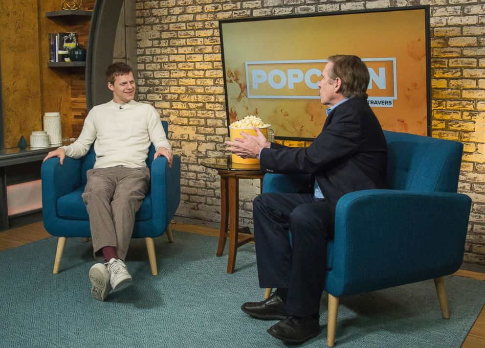 PHOTO: Lucas Hedges appears on Popcorn with Peter Travers at ABC News studios, Oct. 22, 2018, in New York.
