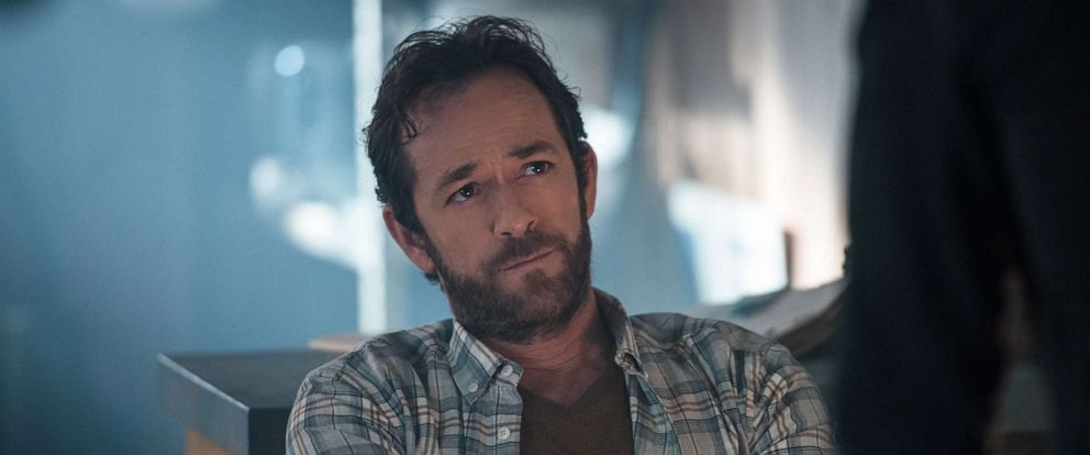 "PHOTO: Luke Perry appears in a 2017 episode of the CW show, ""Riverdale."""
