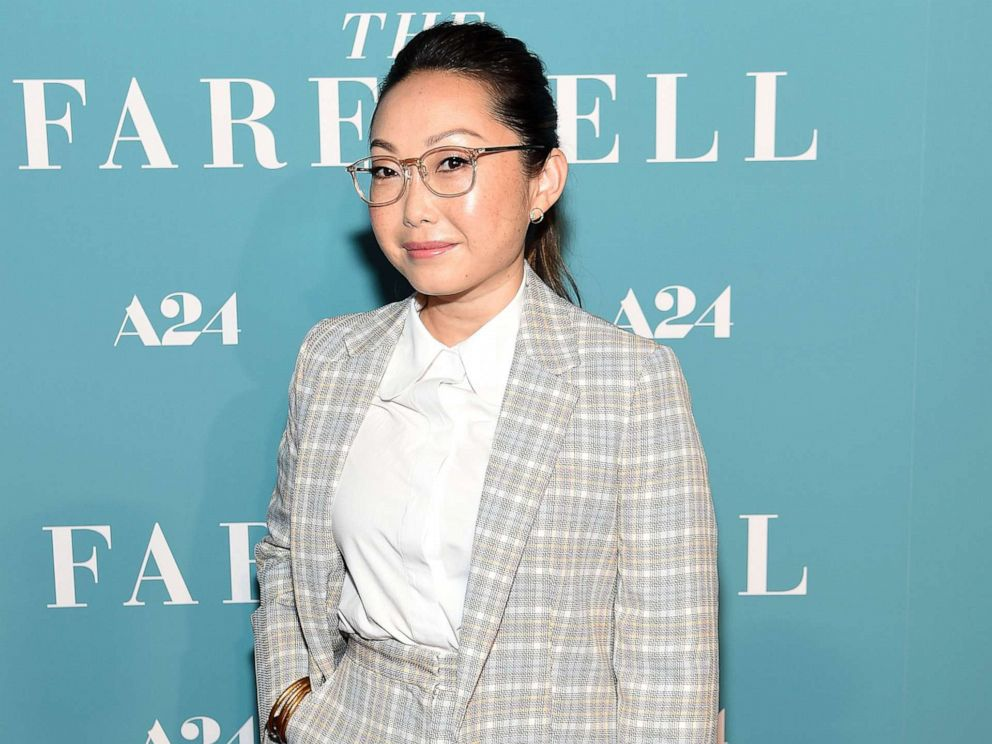 PHOTO: Director Lulu Wang attends The Farewell New York Screening at Metrograph, July 8, 2019, in New York City.
