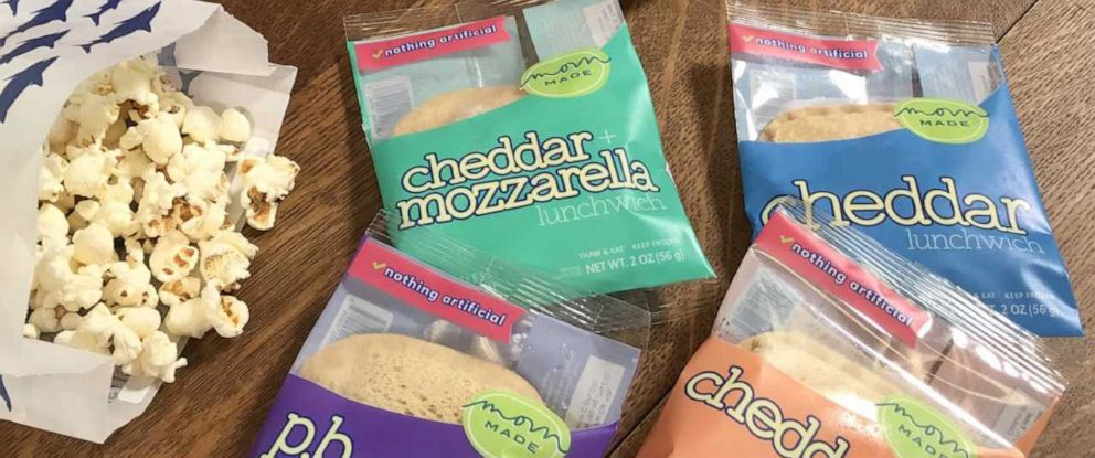 PHOTO: Heather Stouffer, founder of Mom Made Foods, has created the Lunchwich -- an already-made, frozen sandwich that thaws just in time to eat.