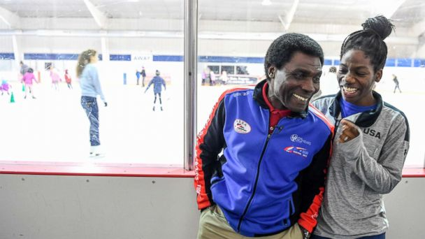 Olympic speedskater Maame Biney on the sacrifices her Ghanaian father made in pursuit of their American dream