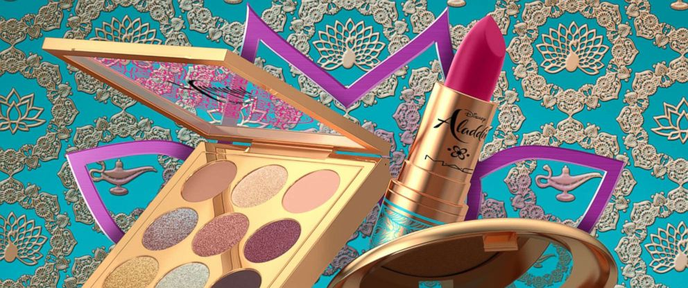 PHOTO: MAC Cosmetics is launching a collection with Disneys Aladdin on May 16, 2019
