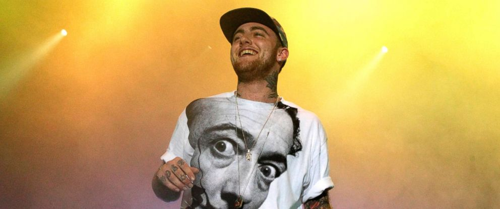 PHOTO: Rapper Mac Miller performs on his Space Migration Tour at Festival Pier in Philadelphia, July 13, 2013.