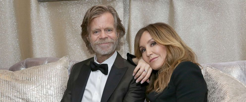 PHOTO: William H. Macy and Felicity Huffman William H. Macy and Felicity Huffman at The 70th Emmy Awards, Sept. 17, 2018, in Los Angeles.