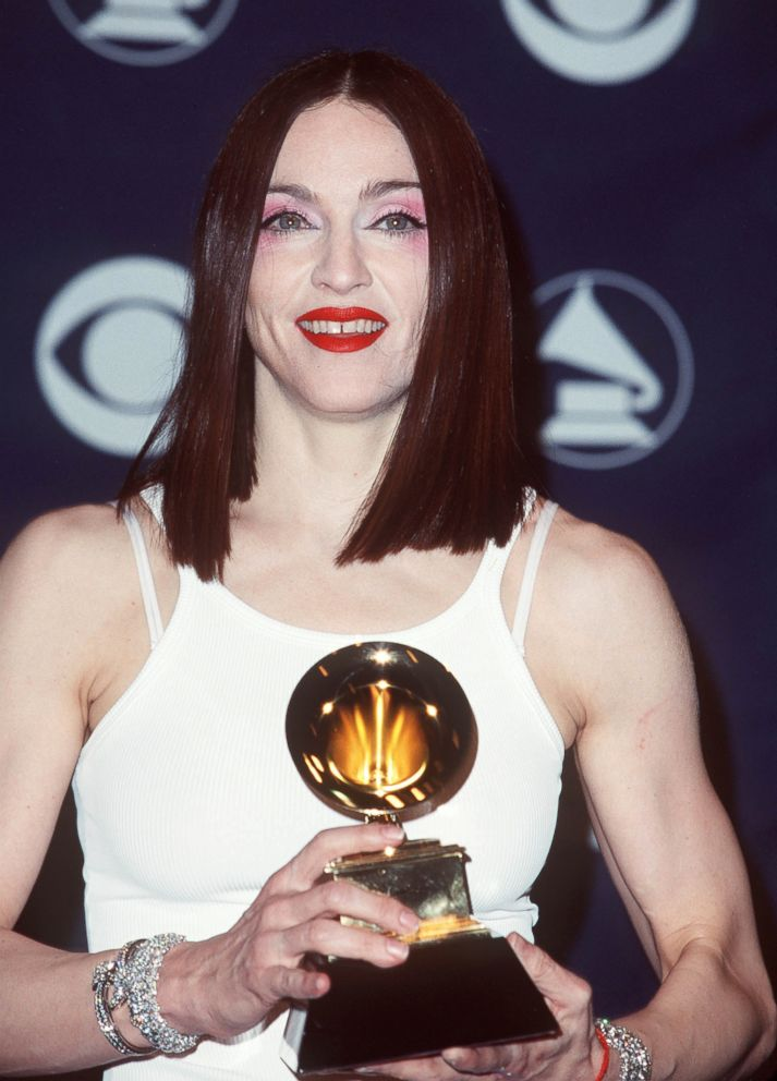 PHOTO: Madonna attends the 41st annual Grammy awards, Feb. 24, 1999, in Los Angeles.