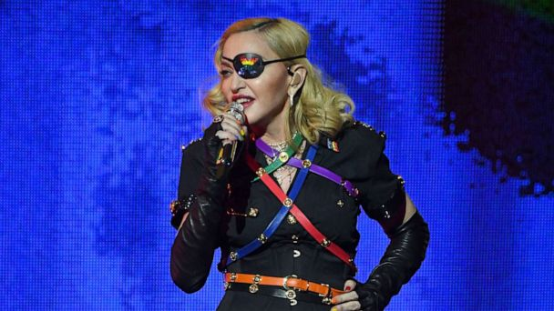 Madonna closes Pride celebrations in NYC: 'I'm so proud and honored to share this...with you'