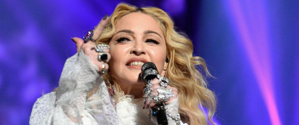 PHOTO: Madonna performs a tribute Prince onstage during the 2016 Billboard Music Awards at T-Mobile Arena, May 22, 2016, in Las Vegas, in this file photo.