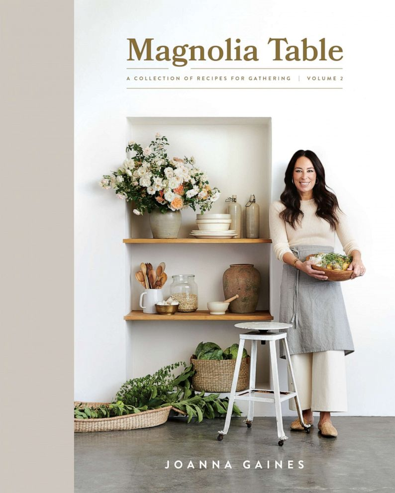 PHOTO: The cover Joanna Gaines new book Magnolia Table.