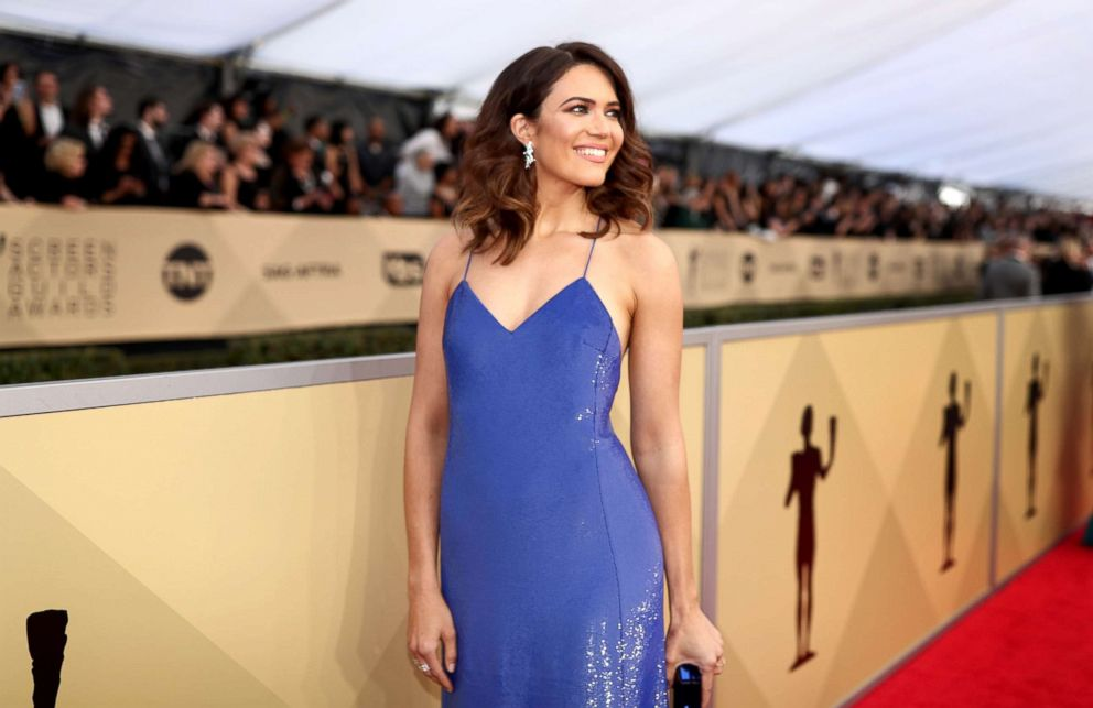 PHOTO: Mandy Moore attends the 24th Annual Screen Actors Guild Awards at The Shrine Auditorium on Jan. 21, 2018, in Los Angeles.