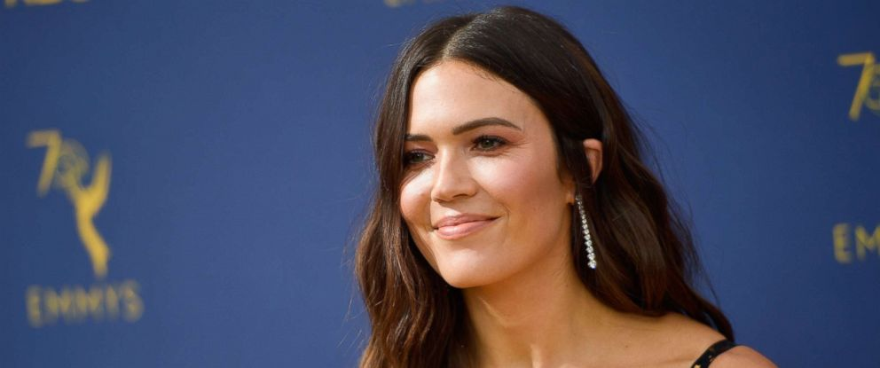 PHOTO: Mandy Moore attends the 70th Emmy Awards at Microsoft Theater on Sept. 17, 2018 in Los Angeles.