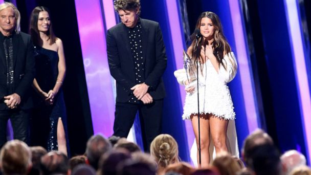Maren Morris dedicates album of the year win to late record producer in emotional speech