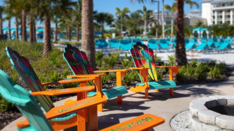 The new Margaritaville hotel is part of the Margaritaville Resort Orlando.