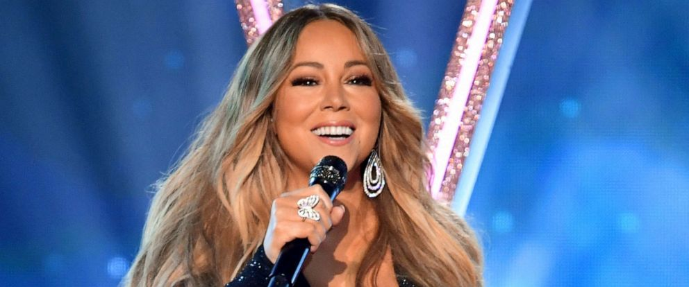 PHOTO: Mariah Carey performs onstage during the 2019 Billboard Music Awards at MGM Grand Garden Arena on May 01, 2019 in Las Vegas, Nevada.