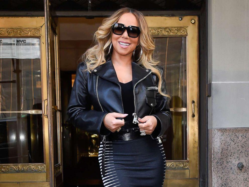 PHOTO: Singer Mariah Carey is seen walking in Soho, Nov. 16, 2018, in New York City.