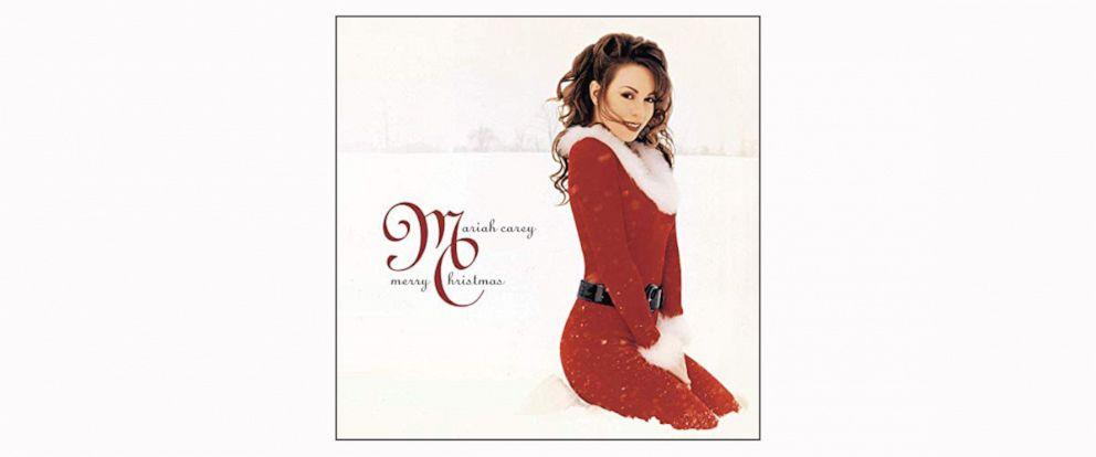 PHOTO: Mariah Careys Merry Christas album cover from 2015.