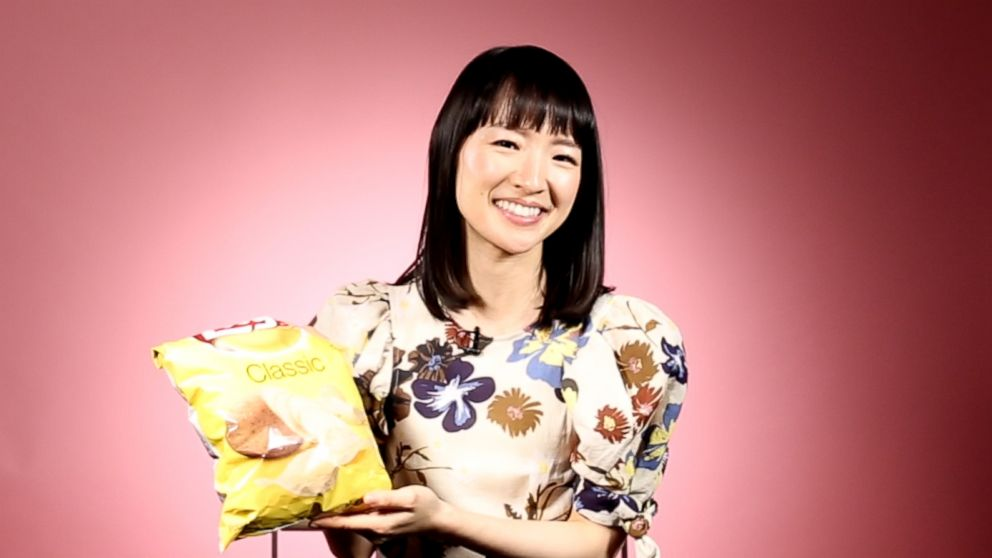 We asked Marie Kondo to fold a bag of potato chips and other random stuff