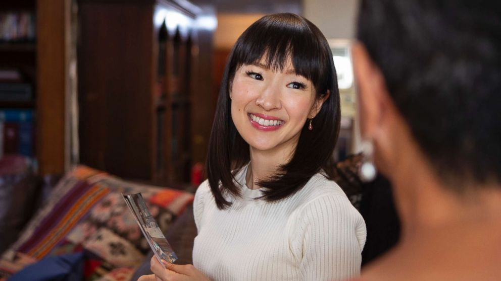 """A scene from """"Tidying Up with Marie Kondo."""""""