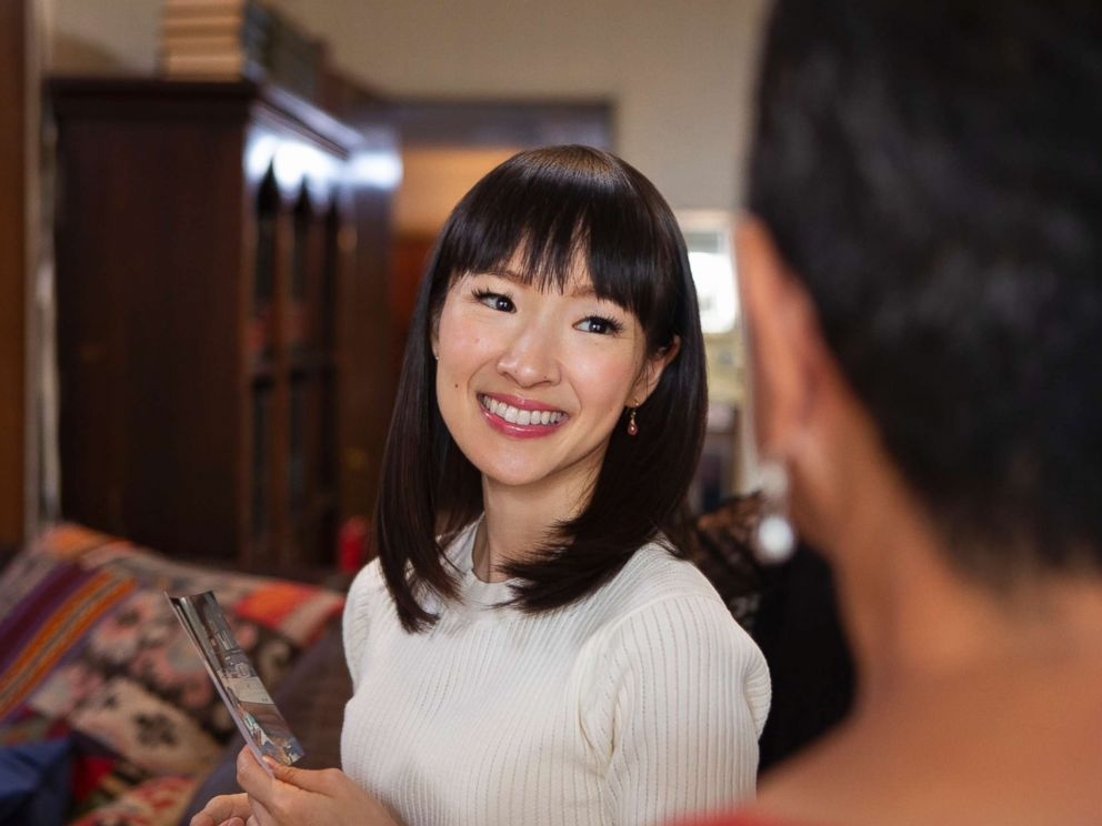 PHOTO: A scene from Tidying Up with Marie Kondo.