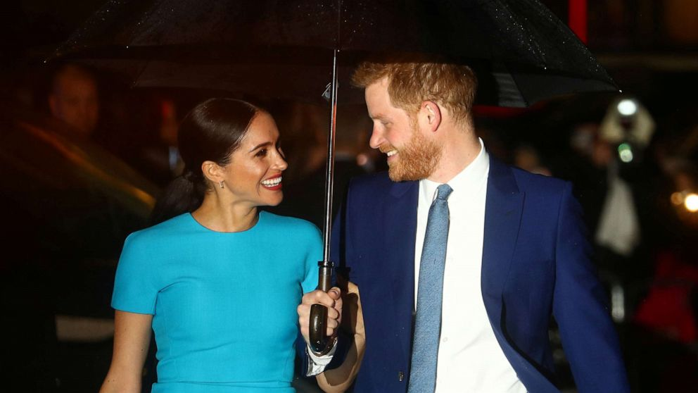 prince harry duchess meghan step out for one of last engagements as working royals gma prince harry duchess meghan step out