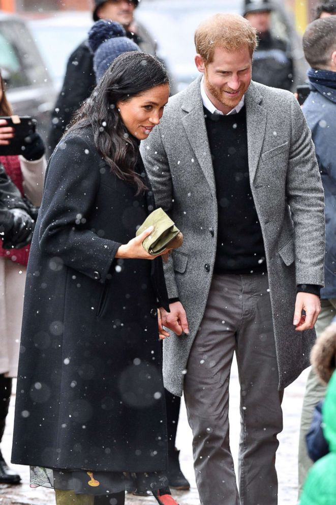PHOTO: Meghan Duchess of Sussex and Prince Harry visit to Bristol, U.K. Feb 1, 2019.