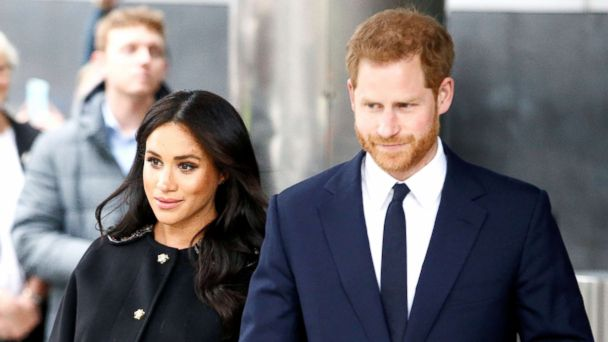 Prince Harry and Meghan visit New Zealand House to honor mosque shooting victims
