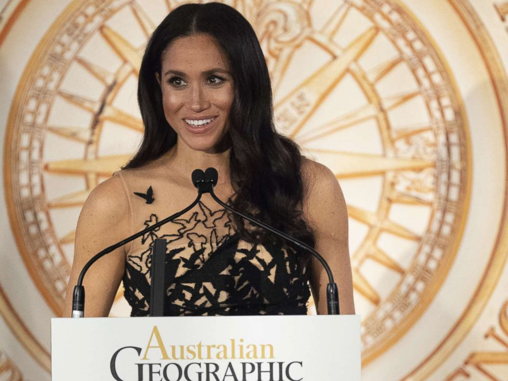 PHOTO: Meghan Markle, Duchess of Sussex, attend the Australian Geographic Society Awards, an annual gathering of Australias best in exploration, science and conservation, in Sydney, Oct. 26, 2018.