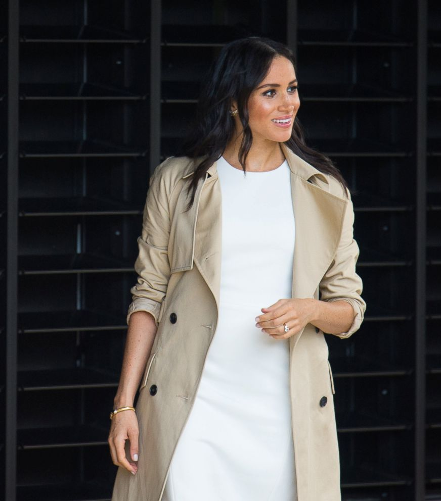 PHOTO: The Duchess of Sussex during a visit to the Taronga Zoo in Sydney on the first day of the visit of the royal couples to Australia, October 16, 2018.