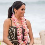 Meghan Markle, The Duchess of Sussex on Bondi beach in Sydney, Oct. 19, 2018.