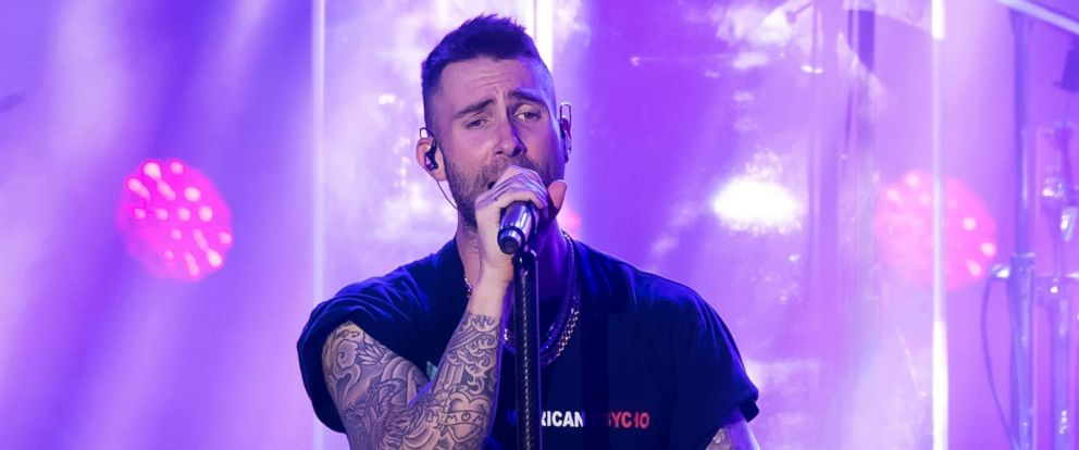 PHOTO: Singer-songwriter Adam Levine of Maroon 5 performs during Philly Fights Cancer: Round 4 at The Philadelphia Navy Yard, Nov. 10, 2018 in Philadelphia.