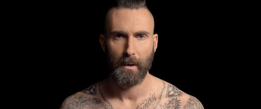 "PHOTO: Maroon 5s music video for ""Memories"" is mostly just Adam Levines face."