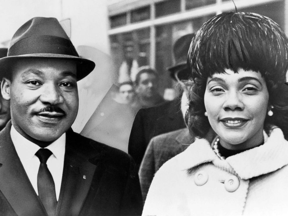 PHOTO: Dr. Martin Luther King and his wife Coretta Scott King pose for a portrrait in 1964.
