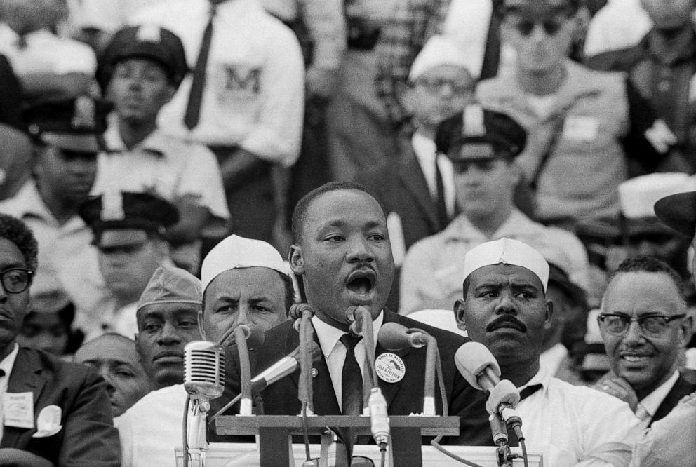 Rita Moreno recounts watching Martin Luther King Jr.'s 'I ...