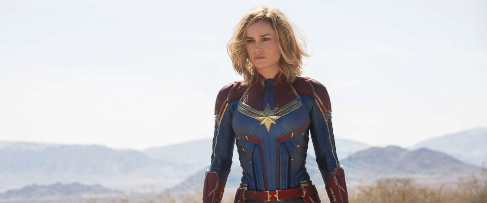 "PHOTO: Brie Larson in ""Captain Marvel,"" 2019."