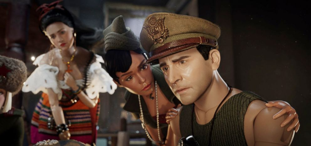 PHOTO: A scene from Welcome to Marwen.