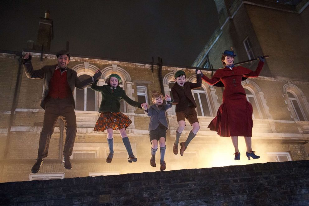 PHOTO: A scene from Mary Poppins Returns.