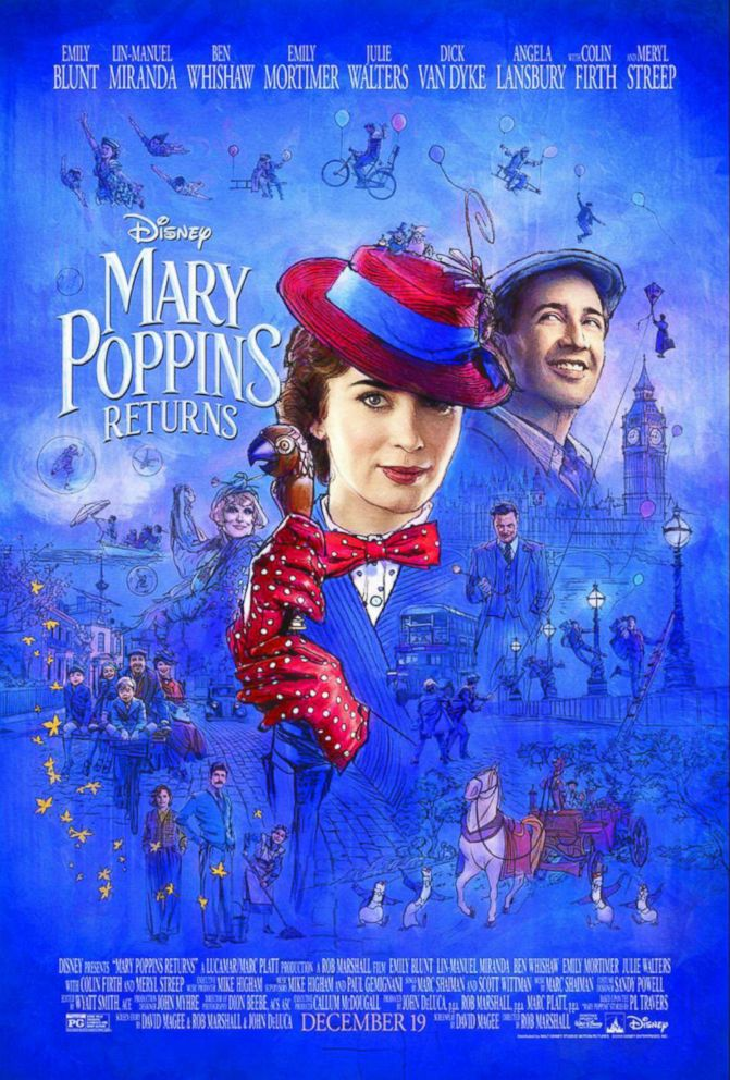 PHOTO: Mary Poppins returns.