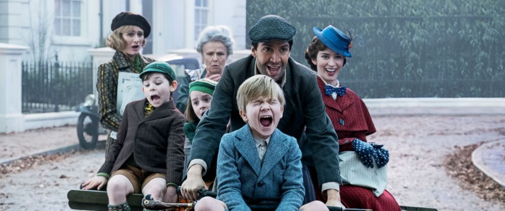 "PHOTO: A scene from ""Mary Poppins Returns."""