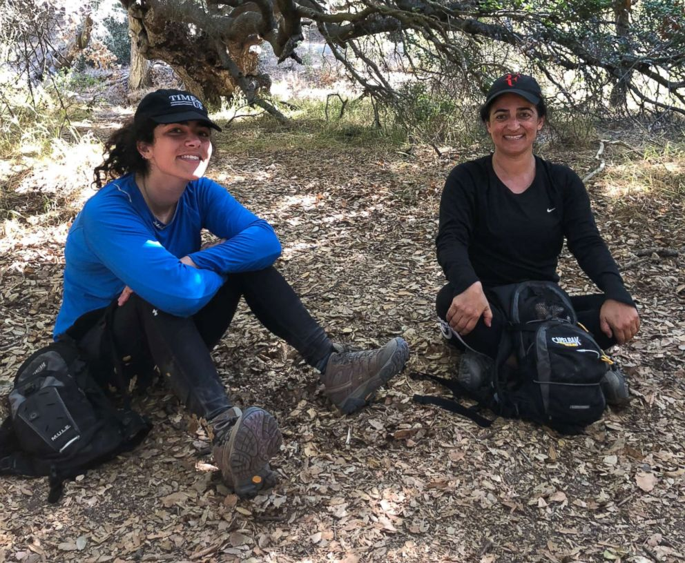 PHOTO: Maryam Banikarim, right, and her daughter, Natasha, attend a yoga retreat together.