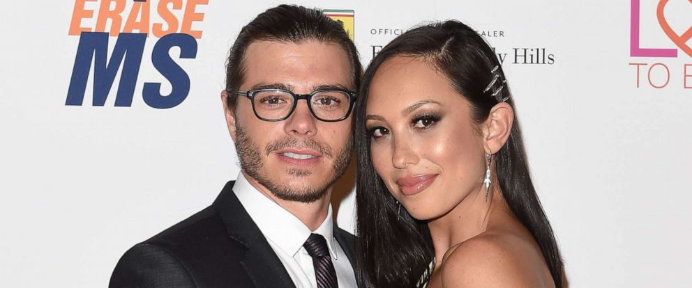 PHOTO:Actor Matthew Lawrence and dancer Cheryl Burke arrive at the 25th Annual Race to Erase MS Gala at The Beverly Hilton Hotel in this April 20, 2018 file photo in Beverly Hills, Calif.