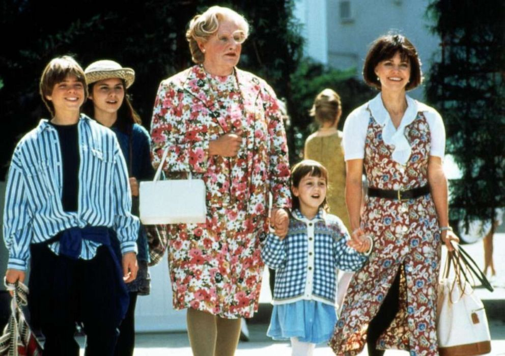 PHOTO: Matthew Lawrence, left, in a scene from the film, Mrs. Doubtfire.