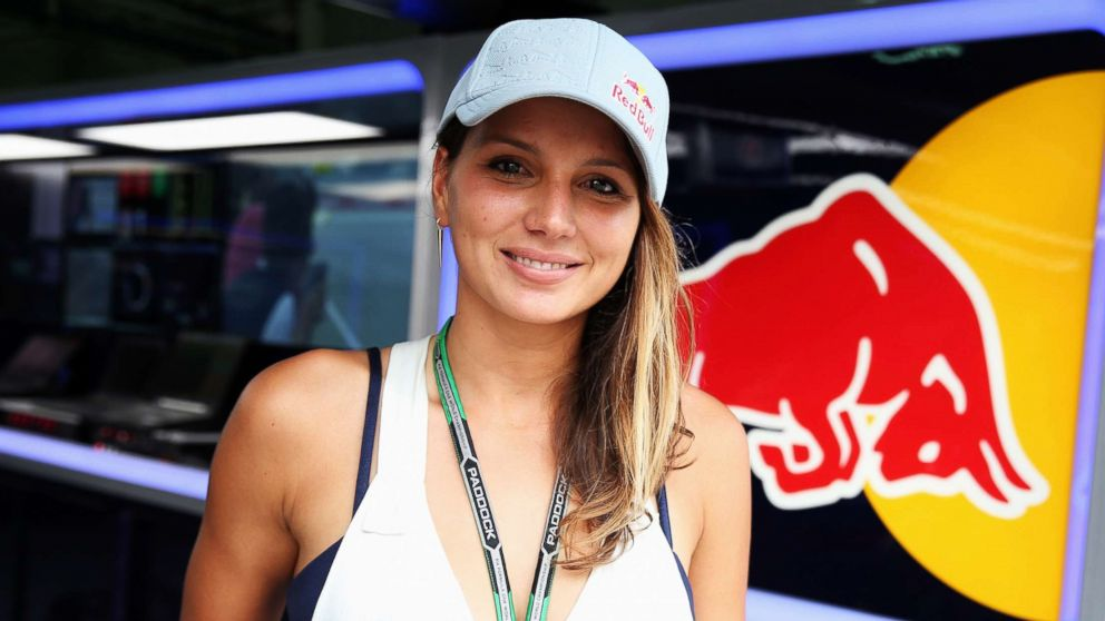 Surfer Maya Gabeira is seen in the Infiniti Red Bull Racing garage during practice for the Malaysia Formula One Grand Prix at the Sepang Circuit on March 28, 2014 in Kuala Lumpur, Malaysia.