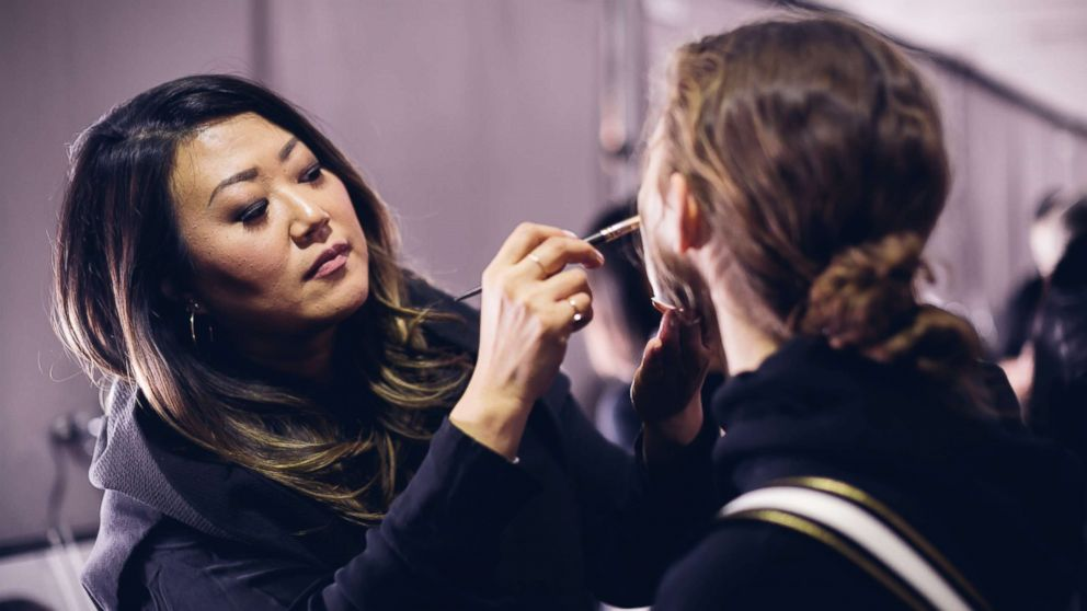 Lead makeup artist for Maybelline New York, Grace Lee, breaks down how she survives New York fashion week.
