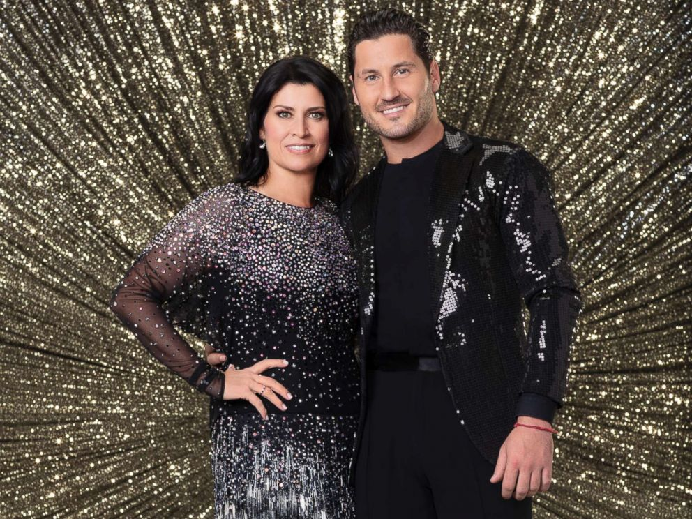 PHOTO: Nancy Mckeon and Val Chmerkovskiy will appear on Dancing with the Stars.