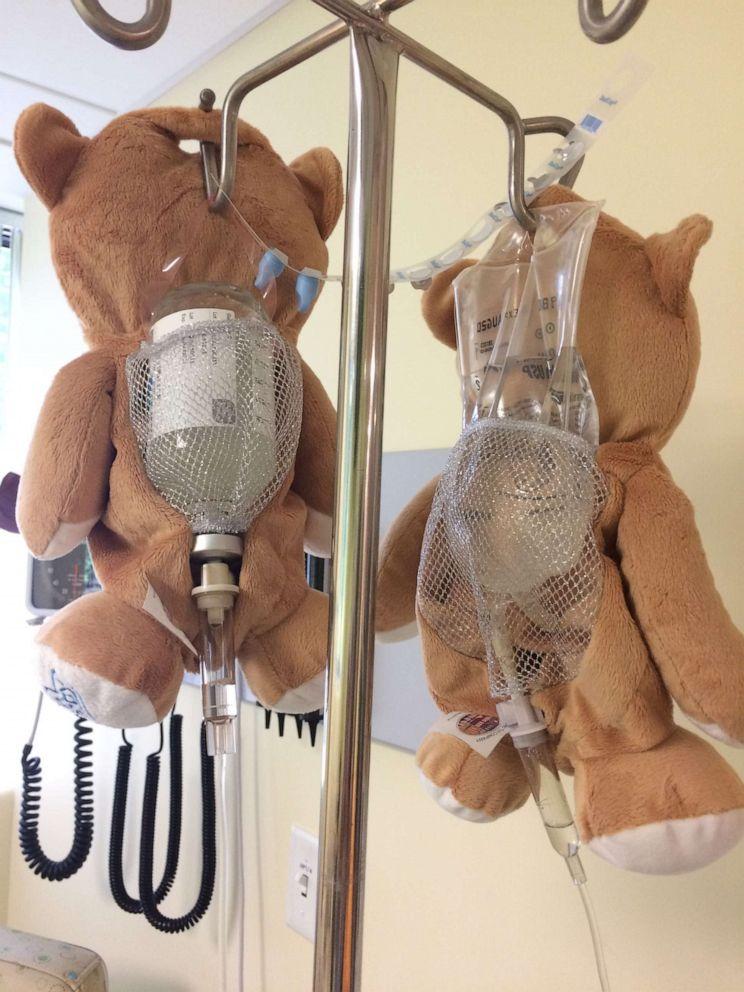 PHOTO: Medi Teddy is an invention by 12-year-old Ella Casano.