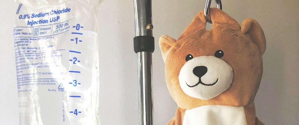 "PHOTO: 12-year-old Ella Casano invented the ""Medi Teddy."""