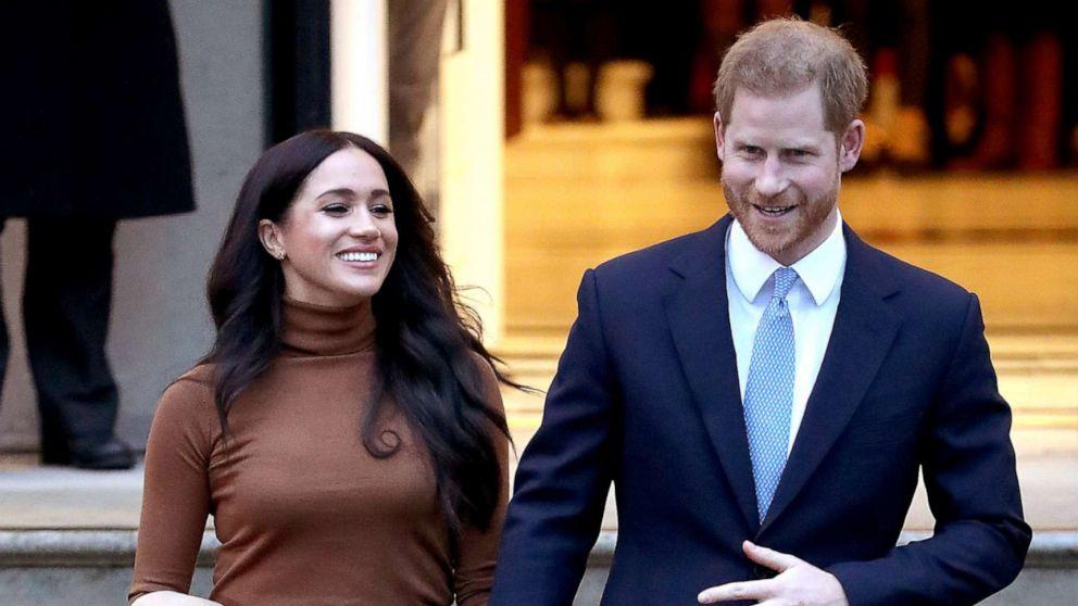 Prinz Harry lässt Großbritannien für Kanada zu vereinen mit Meghan, Archie