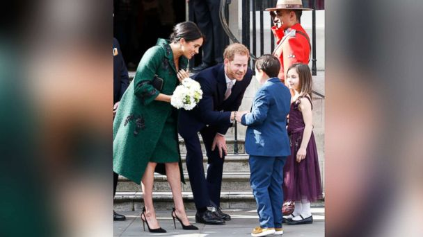 Duchess Meghan wears high heels far into pregnancy. Dangerous or more power to her?